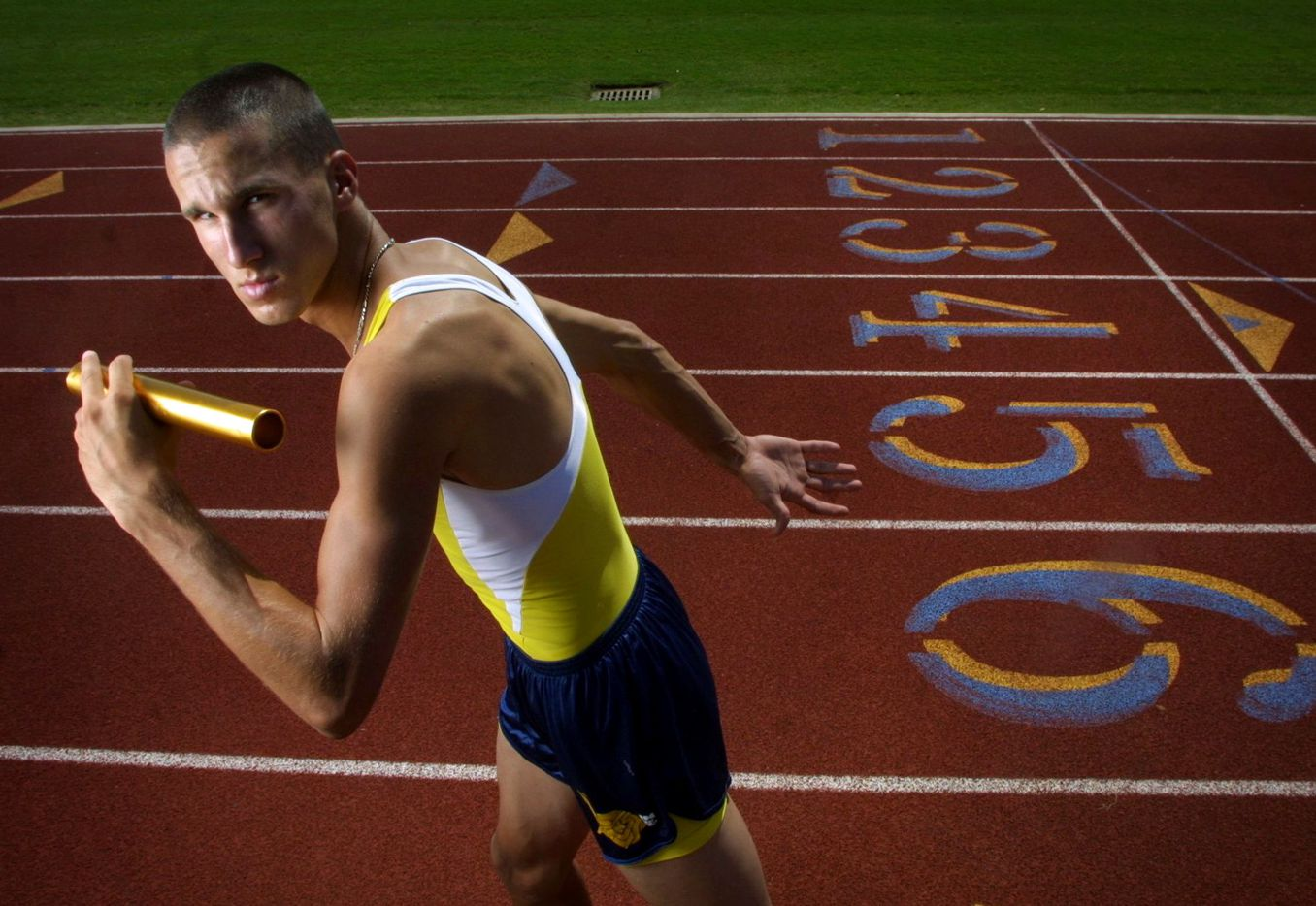 From 2002: Jeremy Wariner is boys all-area MVP in track from Arlington Lamar High School.