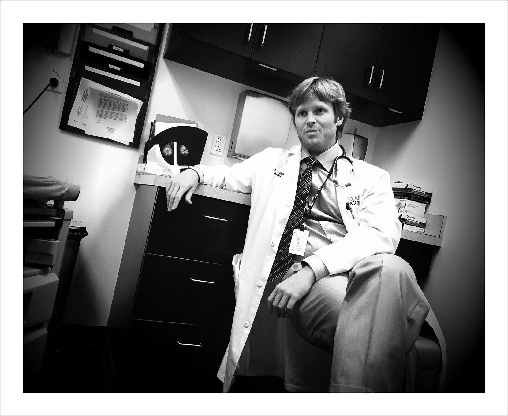 9/22/16 — Dr. Scott Paulson. My oncologist.
