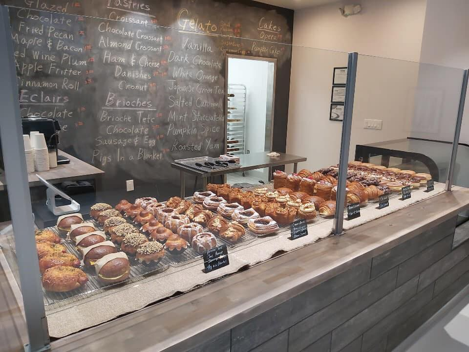 Cremcrittos usually sells out of its pastries by 9:30 on weekend mornings.
