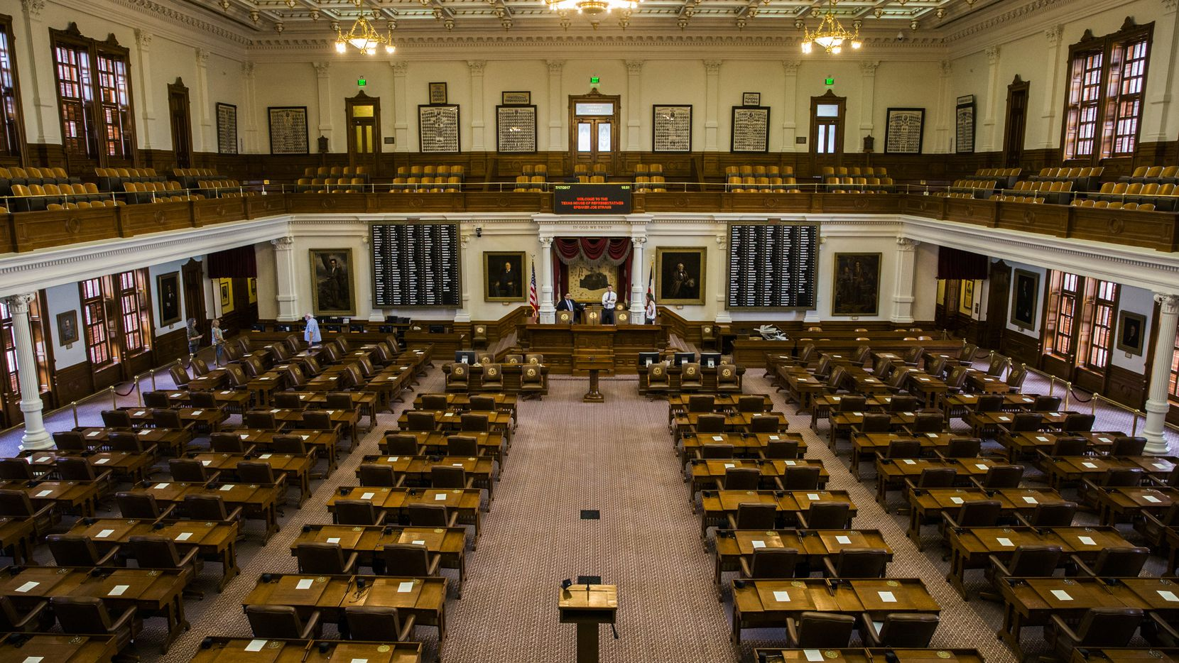 State GOP leaders have tried to quell party infighting in Texas House primaries so that Republicans this fall can retain their majority in the 150-member chamber. Mega donors Tim Dunn and Farris Wilks, though, are bankrolling challengers to two sitting state representatives with 'Rs' behind their names.