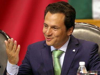 Fotografía de archivo. El exdirector de la estatal Petróleos Mexicanos Emilio Lozoya es acusado de lavado de dinero, cohecho y asociación ilícita.