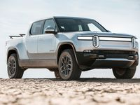 The Rivian R1T, the startup automaker's first electric full-size pickup. (Rivian)