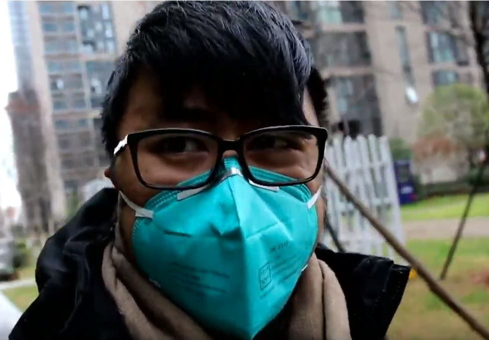 Warren Lee, a 29-year-old Dallas resident, traveled to Wuhan, China for work to learn more about the gaming community there. Now, he says, he's stuck because of the quarantine in the city as the coronavirus spread. This image is taken from a video he made of his time there.
