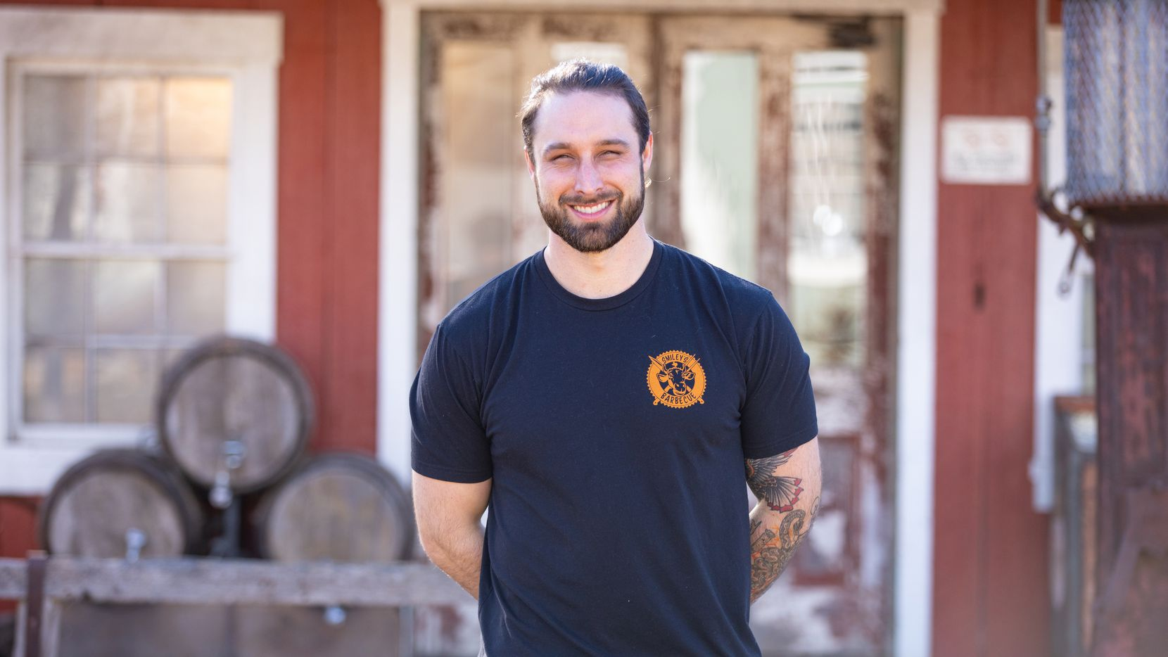 On season 2 of 'BBQ Brawl' on the Food Network, Roanoke resident Brendan Lamb shared his central Texas barbecue point of view with celebrities and chefs including Bobby Flay, Michael Symon, Brooke Williamson and Eddie Jackson.