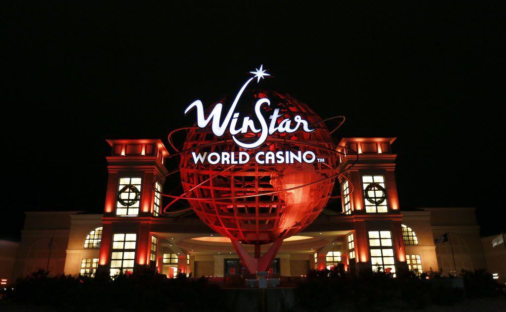 La entrada del WinStar World Casino and Resort en Thackerville, Oklahoma.