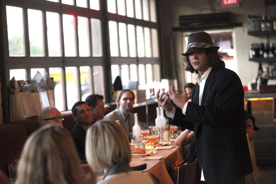 """Eddie """"Lucky"""" Campbell, now considered one of Dallas' best bartenders, worked at Bolsa."""