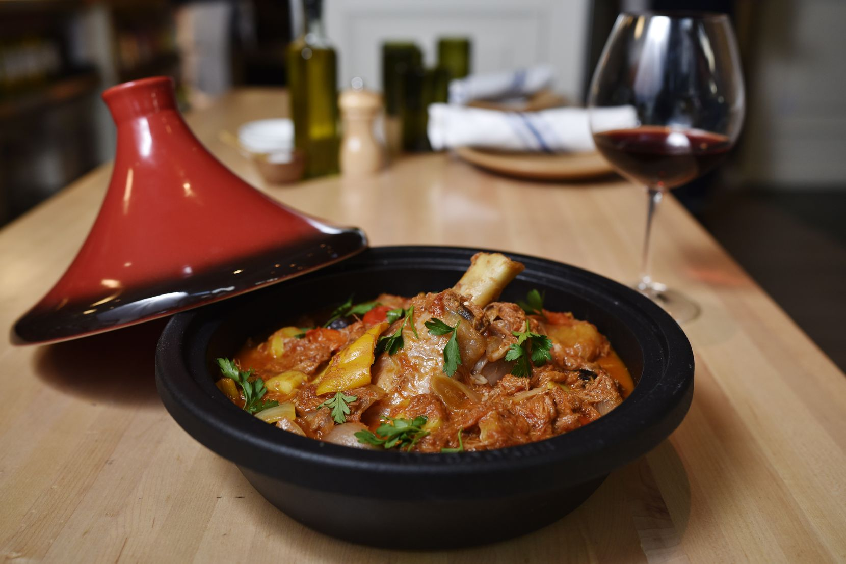 Catalan-style lamb stew