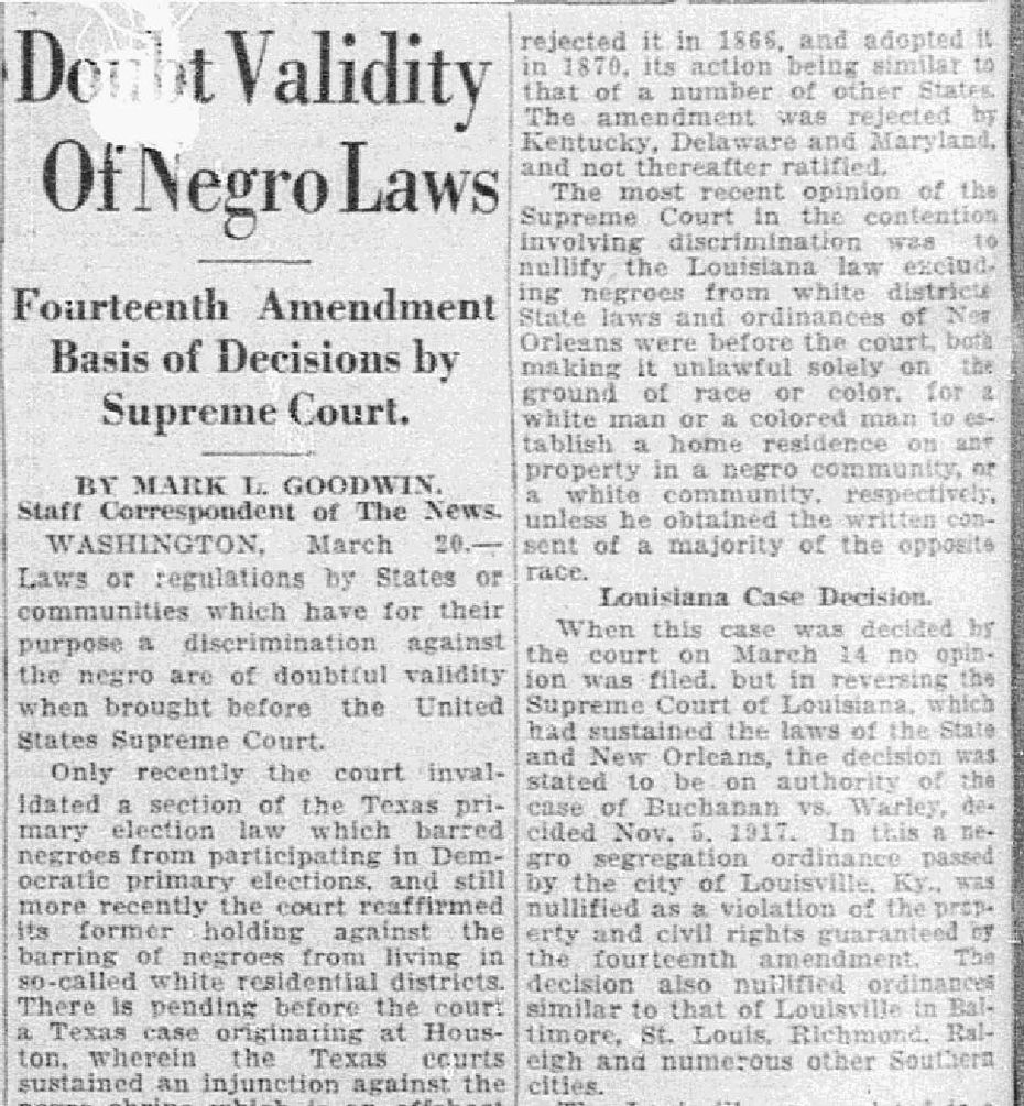 Snip from March 21, 1927.