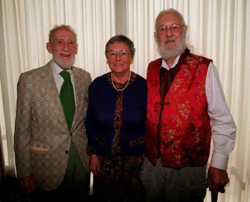 From the archives: From left,. Ned Fritz, Genie Fritz and Dr. Geoffrey Stanford  received Environmental Excellence Awards  at a luncheon hosted by Save Open Space, Friends of the Trinity River and several other environmental groups.