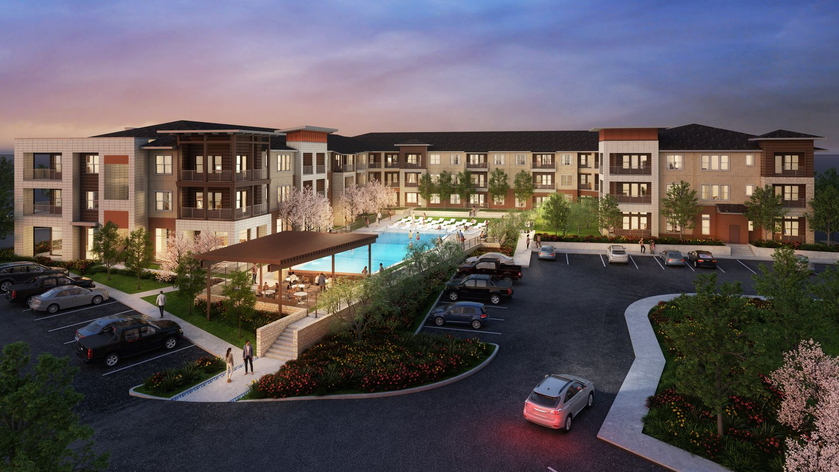 The Jefferson Rockhill apartments will open next year.