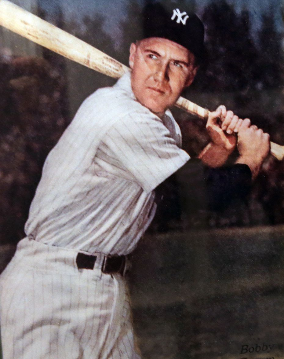 Bobby Brown is pictured at Yankees spring training in the late 1940s.