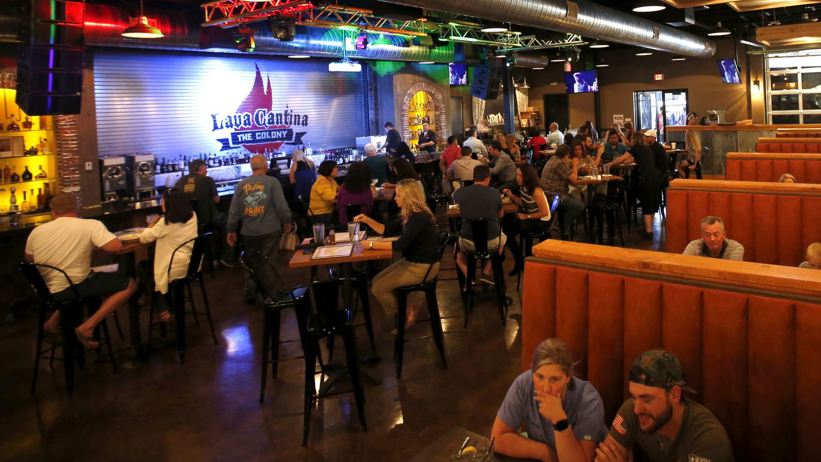 Lava Cantina in The Colony is an indoor-outdoor live music venue, restaurant and bar. It was shut down by TABC for being open after bars were mandated to close. Its owner was able to successfully prove to TABC that it should be classified as a restaurant.
