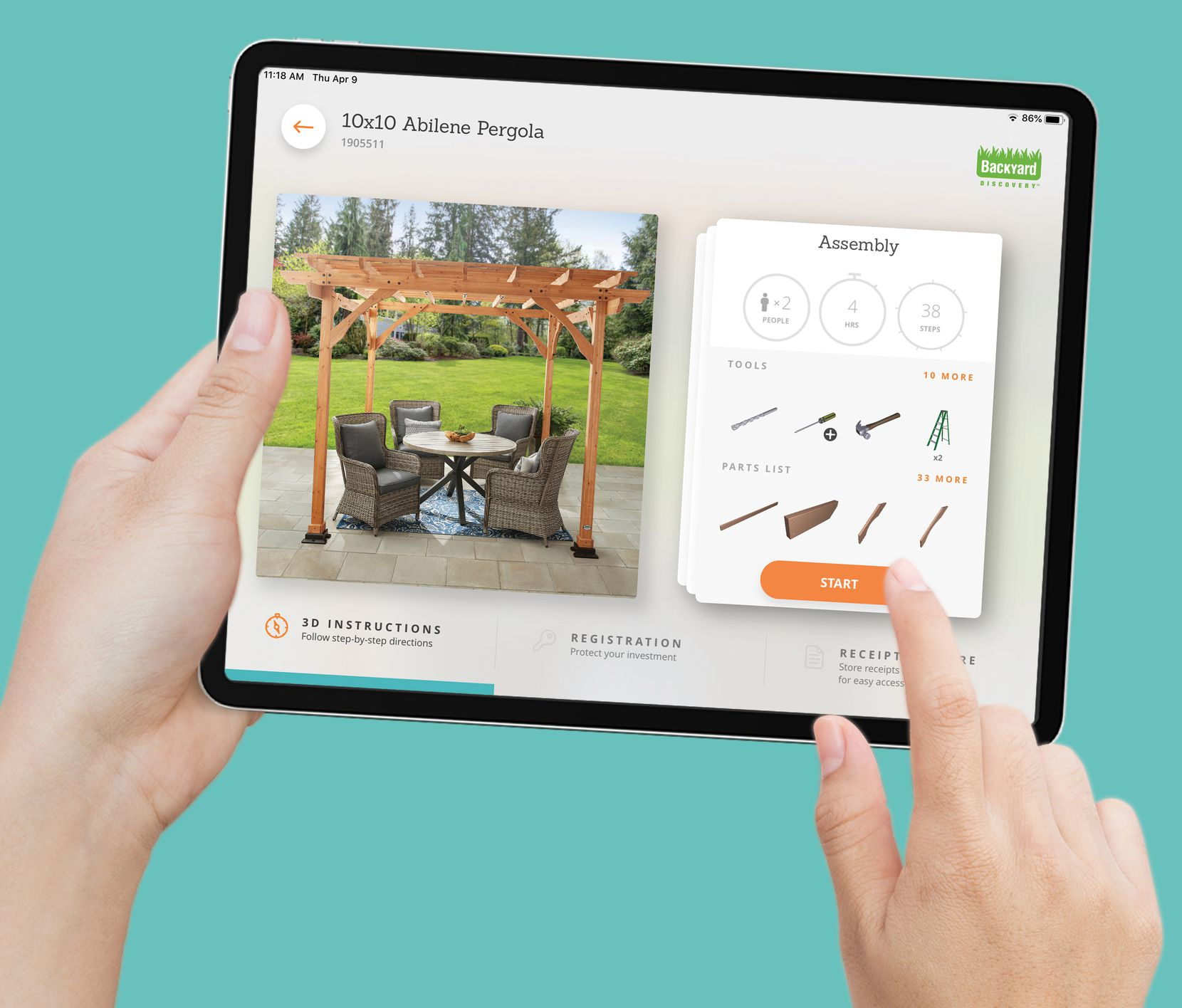 Grapevine-based Bilt Inc.'s app provides official instructions for major brands including Weber Grills, Samsung, Kidkraft, Coleman Powersports and private label brands from Home Depot, Walmart and Costco.