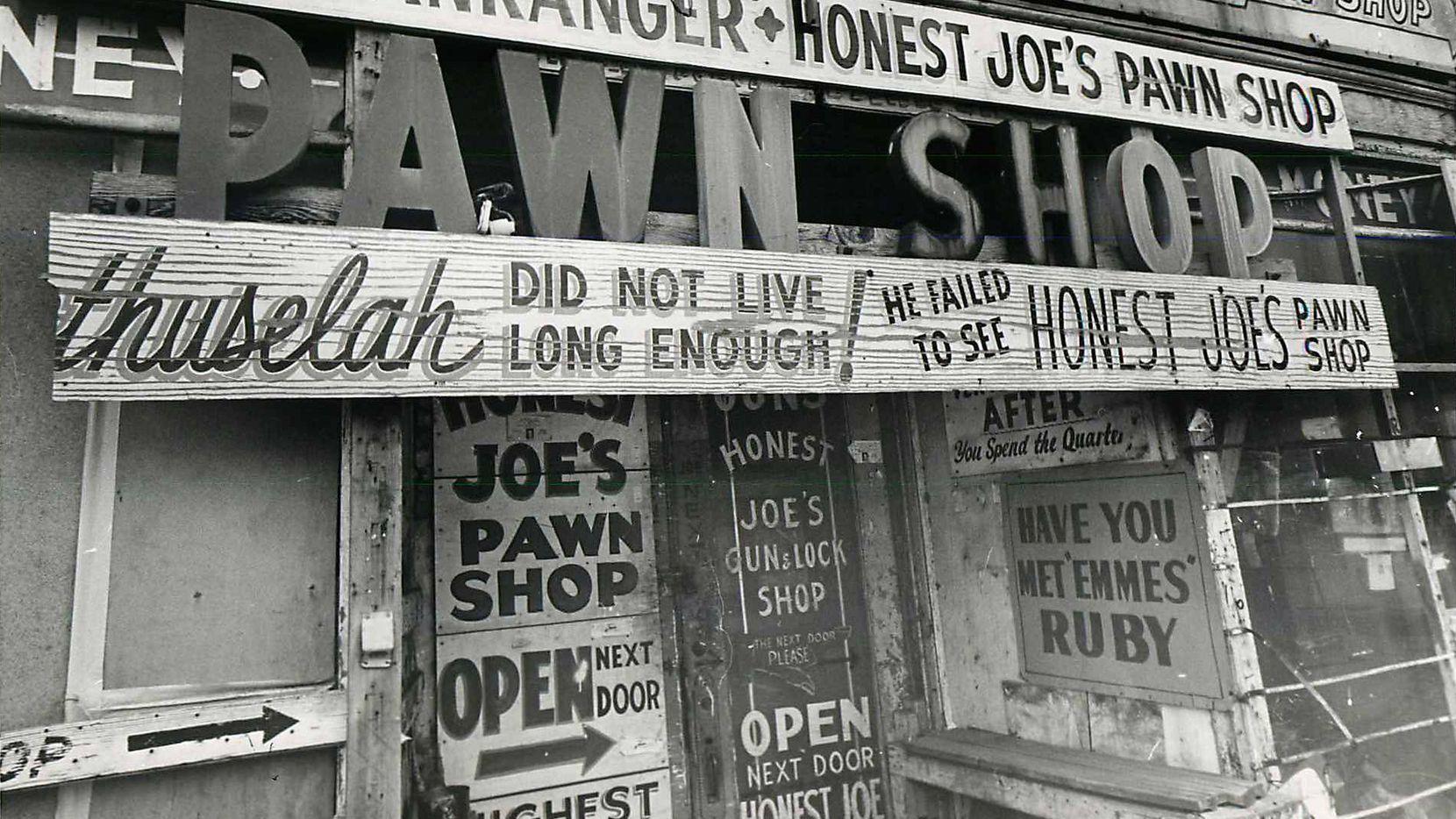 Honest Joe's Pawn Shop in Deep Ellum