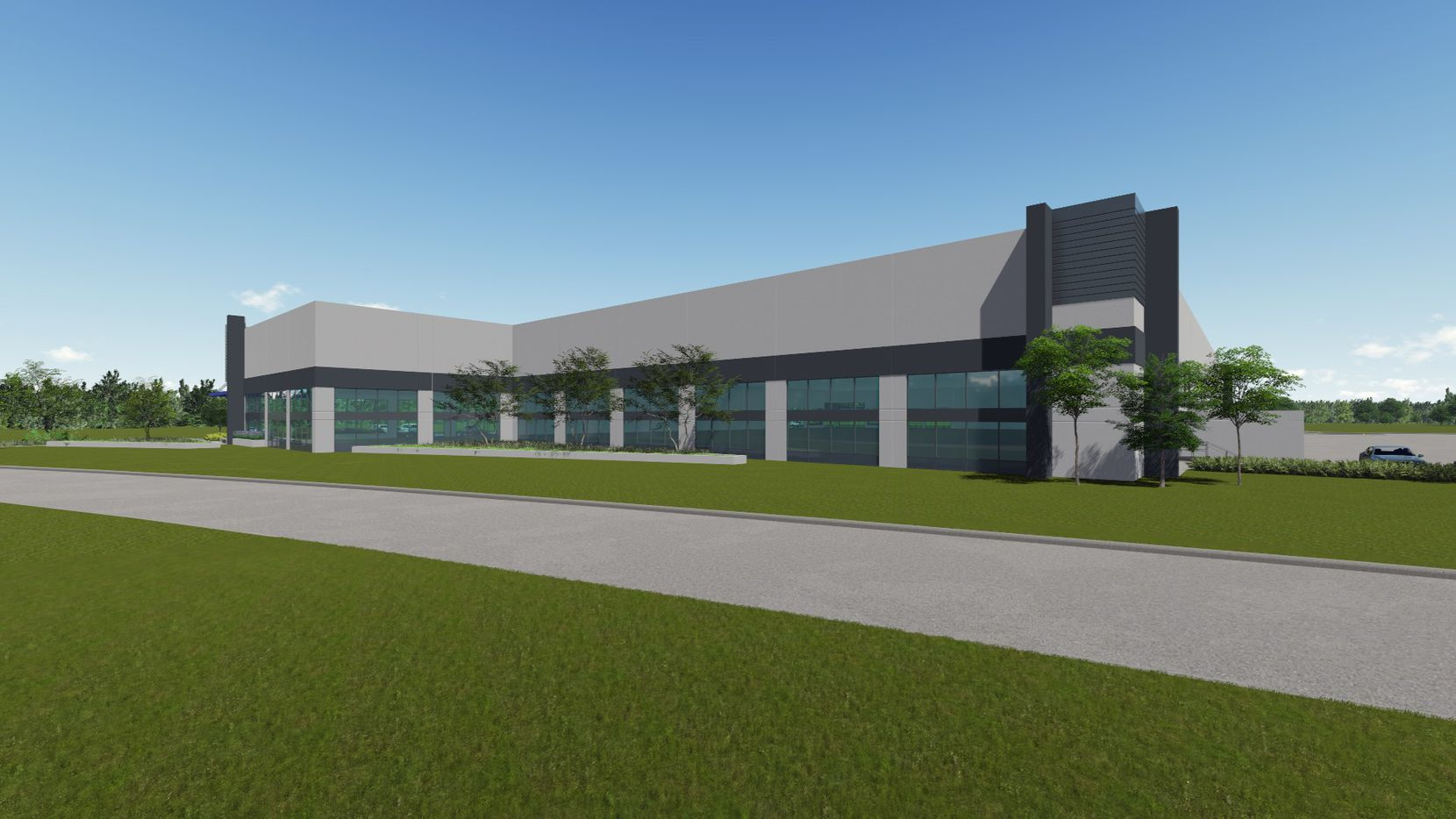 The new Mountain Creek Business Park buildings will be ready in early 2018.