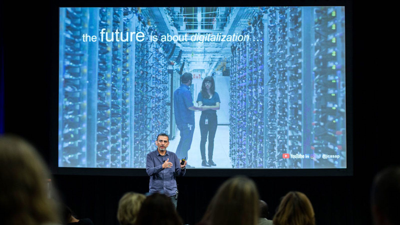 Jaime Casap is Google's education evangelist. He spoke at Capital One's fourth annual Reimagine Communities Summit in Plano in October 2019.