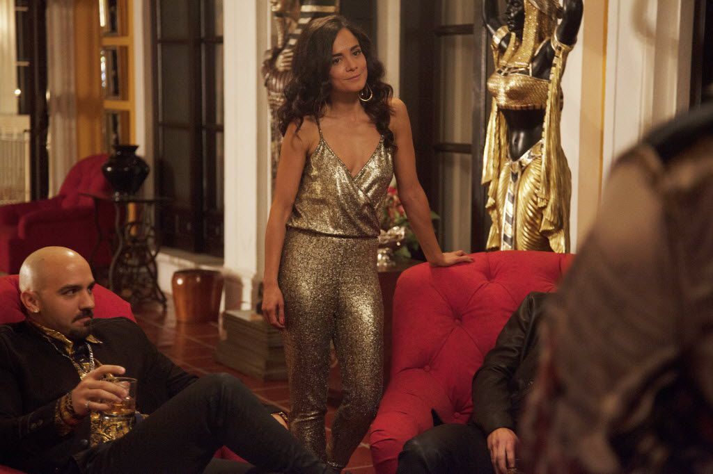 Alice Braga stars as Teresa Mendoza in Queen of the South.
