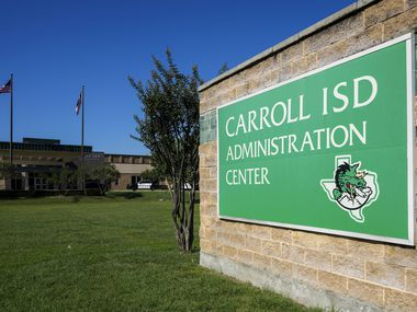 Parents and teachers spoke out in support of educators caught up in recent controversies in Southlake Carroll.