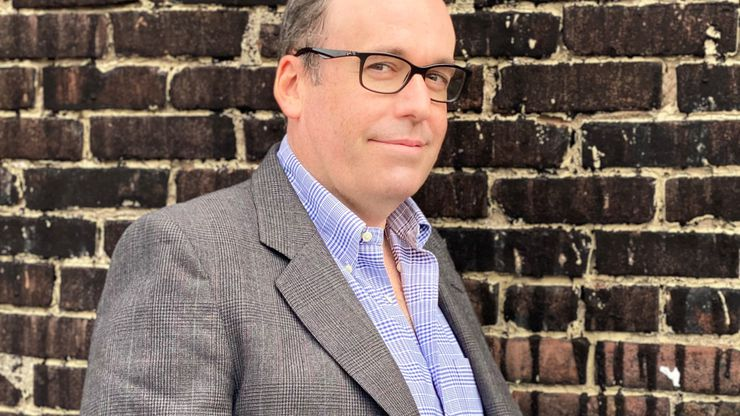 """Sean Desmond grew up in 1980s Dallas and graduated from Jesuit College Preparatory School, which is featured in his new novel, """"Sophomores."""" The veteran of the publishing industry released his first novel, """"Adams Fall,"""" in 2000."""