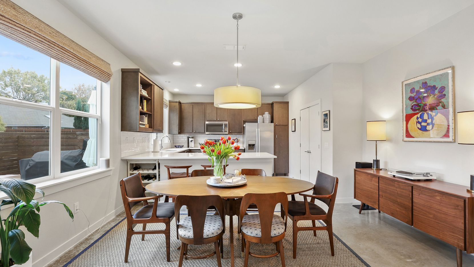 The four-bedroom home at 6568 Arborist Lane is near White Rock Lake.