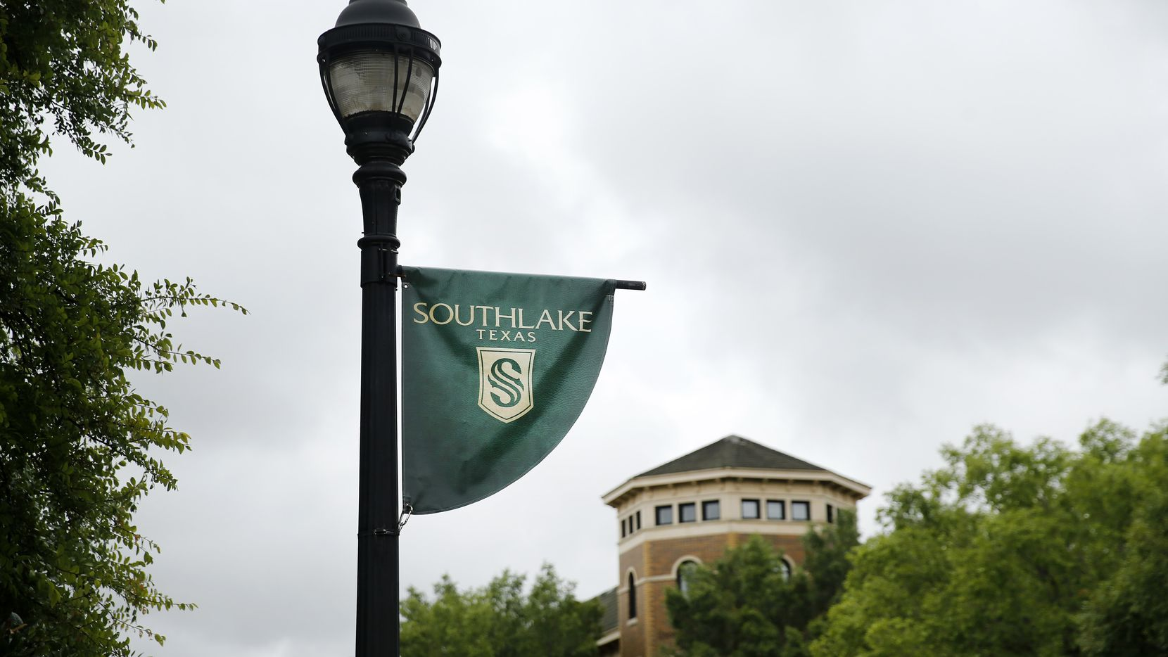Southlake Town Square in Southlake, Texas Tuesday, June 23, 2020.