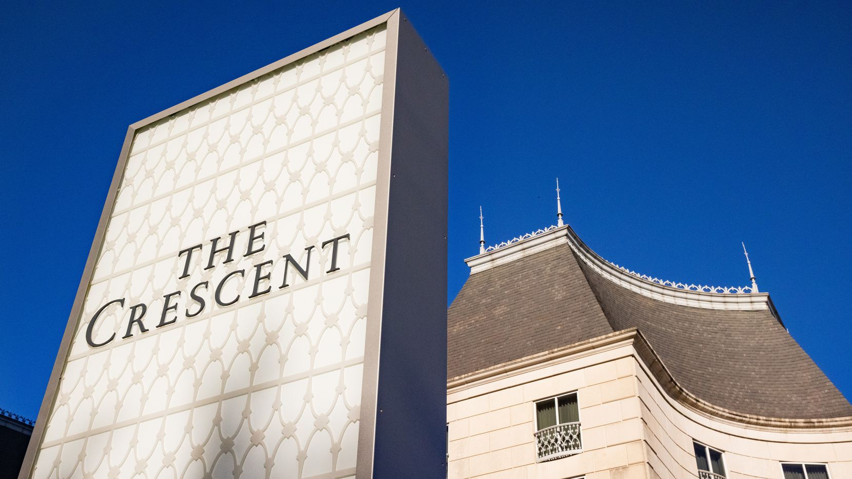 The Crescent office, hotel and retail project in Uptown Dallas is home to a large number of financial firms.