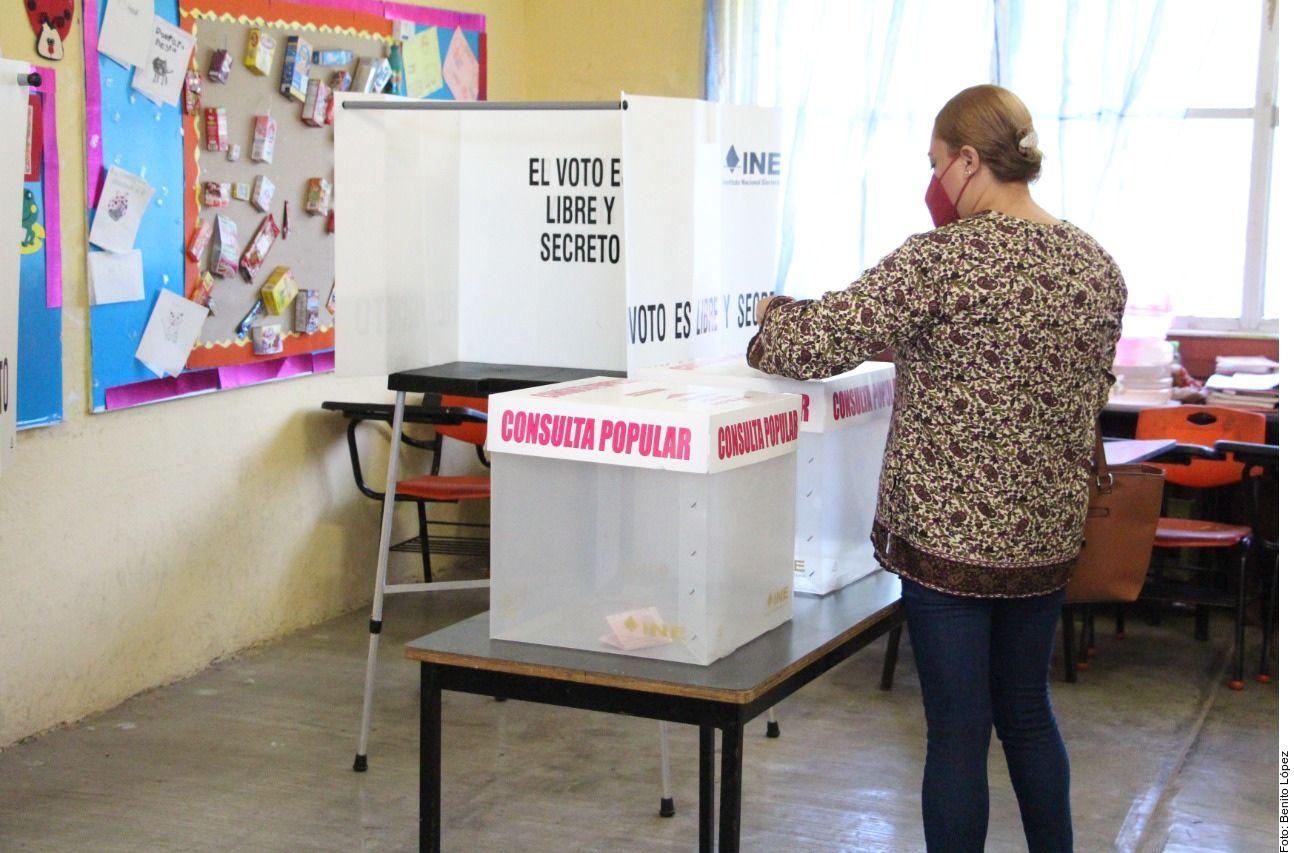 La participación en el referéndum en México quedó lejos del 40 por ciento necesario para que el resultado de la consulta obligara a emprender acciones legales contra exmandatarios.