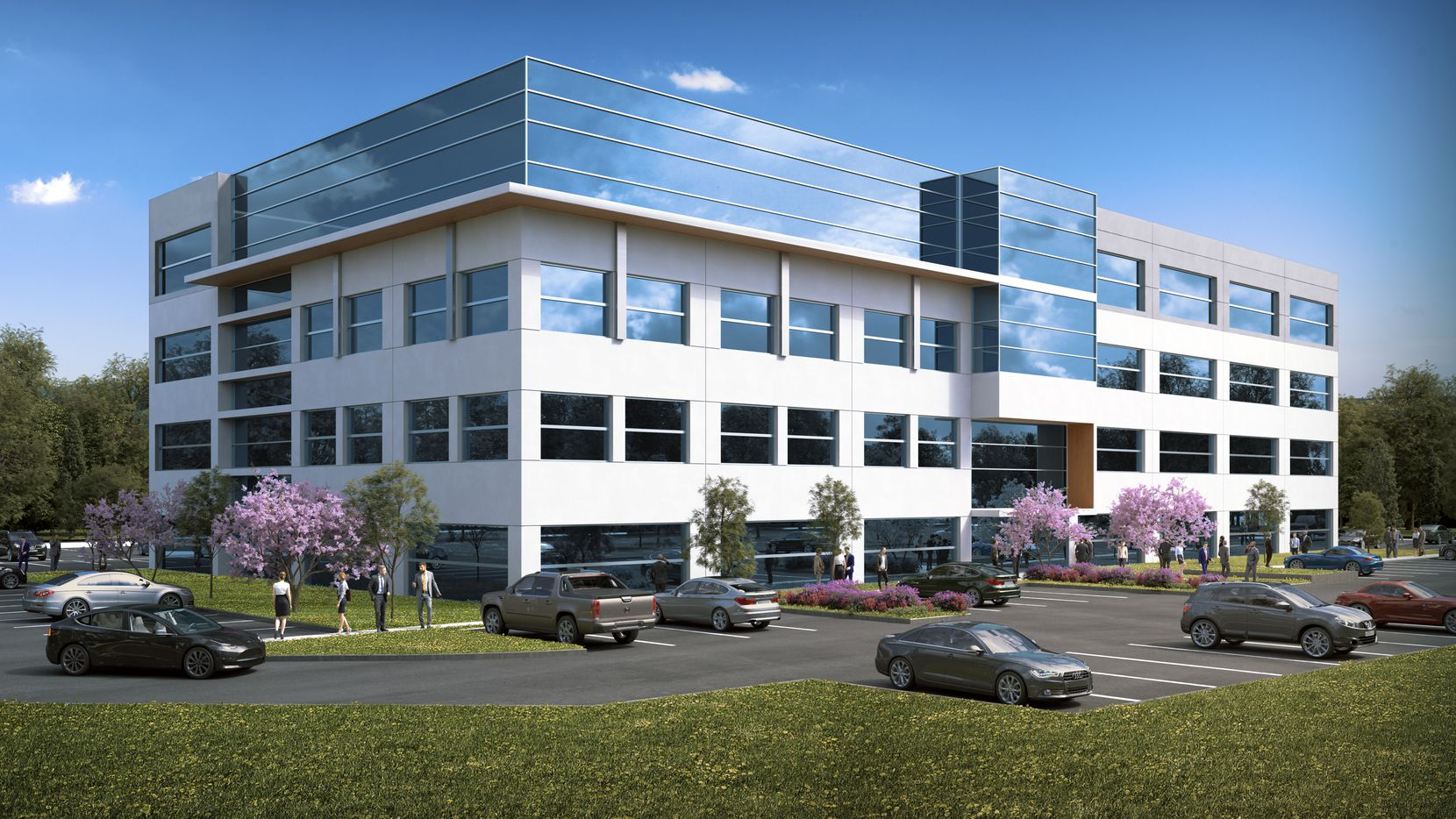 Heady Investments' new Allen building will open next year.