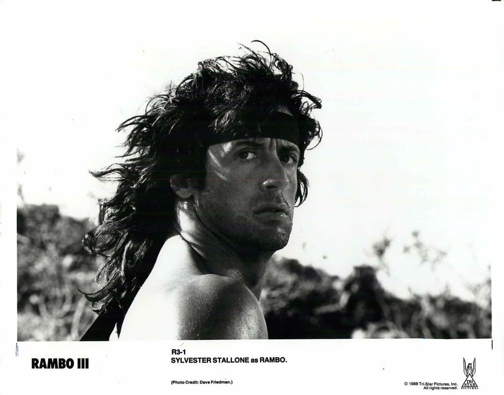 MOVIE: RAMBO III - Tri-Star - 1988 /