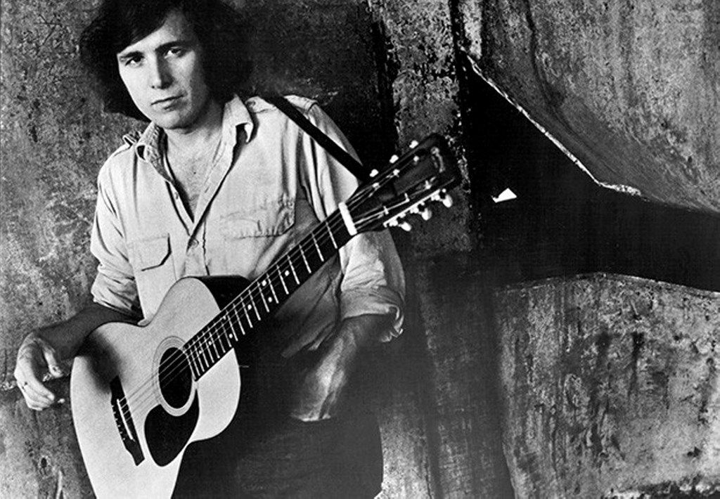 """Don McLean, around the time he wrote """"The Legend of Andrew McCrew"""""""