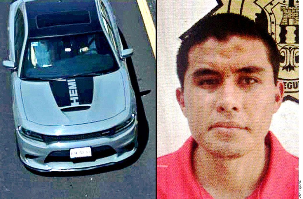 Sergio Duarte Jacobo, conductor del Challenger en el que huyeron del lugar del accidente./ AGENCIA REFORMA