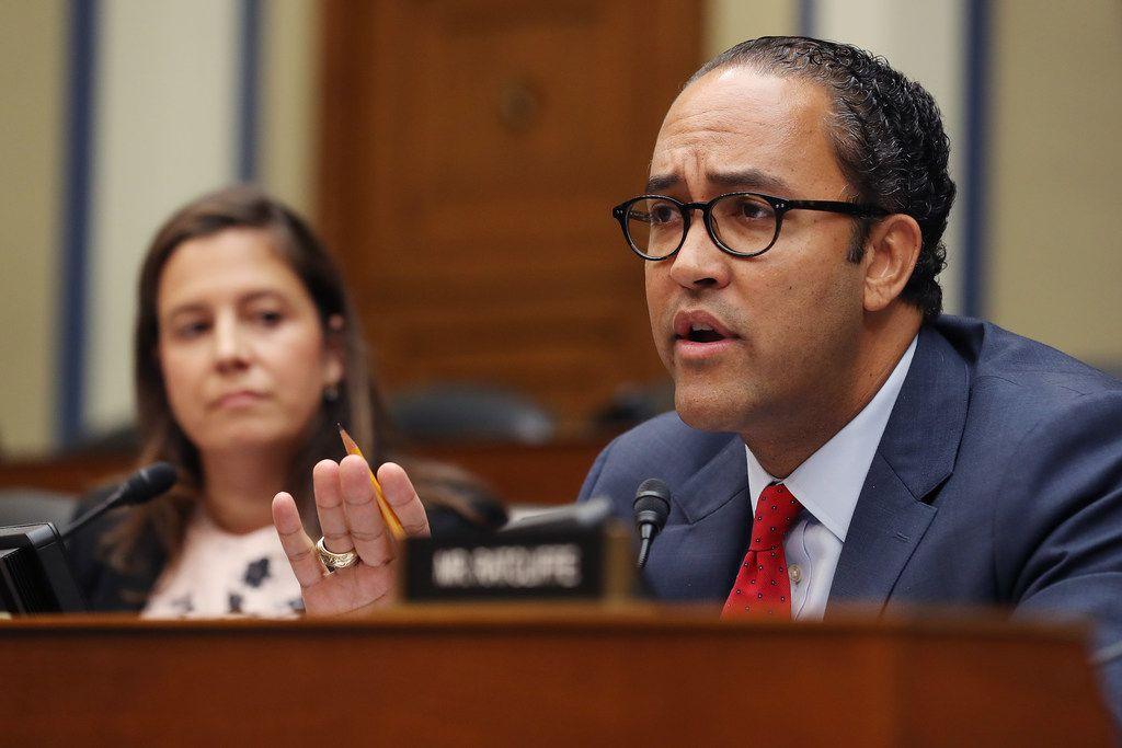 House intelligence committee member Rep. Will Hurd questioned acting Director of National Intelligence Joseph Maguire during a hearing Thursday.