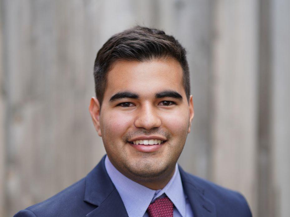 Chris Vásquez quiere ser abogado y para eso irá a la escuela de leyes de la Universidad de Texas.