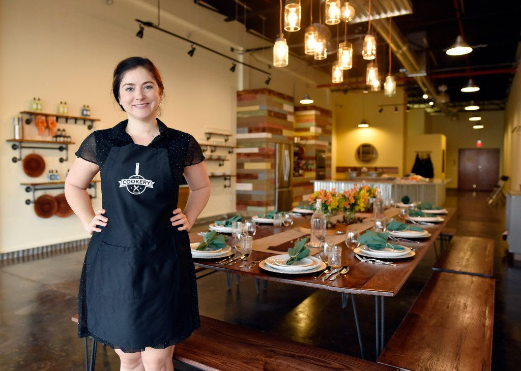 Kelly Huddleston, 31, is owner of the The Cookery, a new cooking school in Dallas. (Ben Torres/Special Contributor)