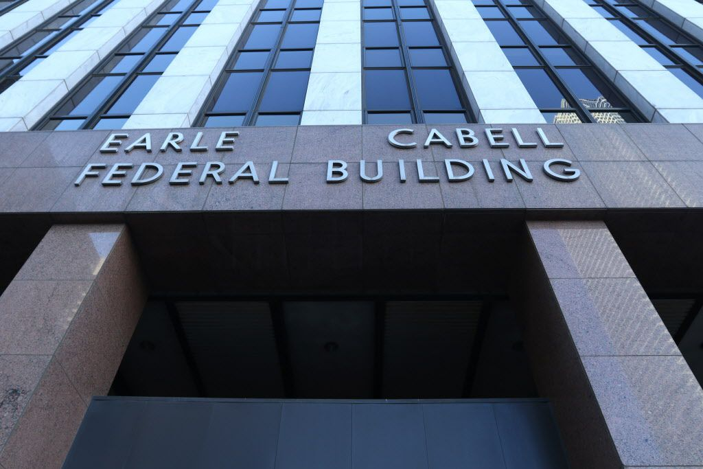 Dallas lawyer Ray Jackson is scheduled to enter a guilty plea to a money laundering charge in the federal courthouse in Dallas.