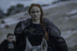 Sansa, antes de la batalla.