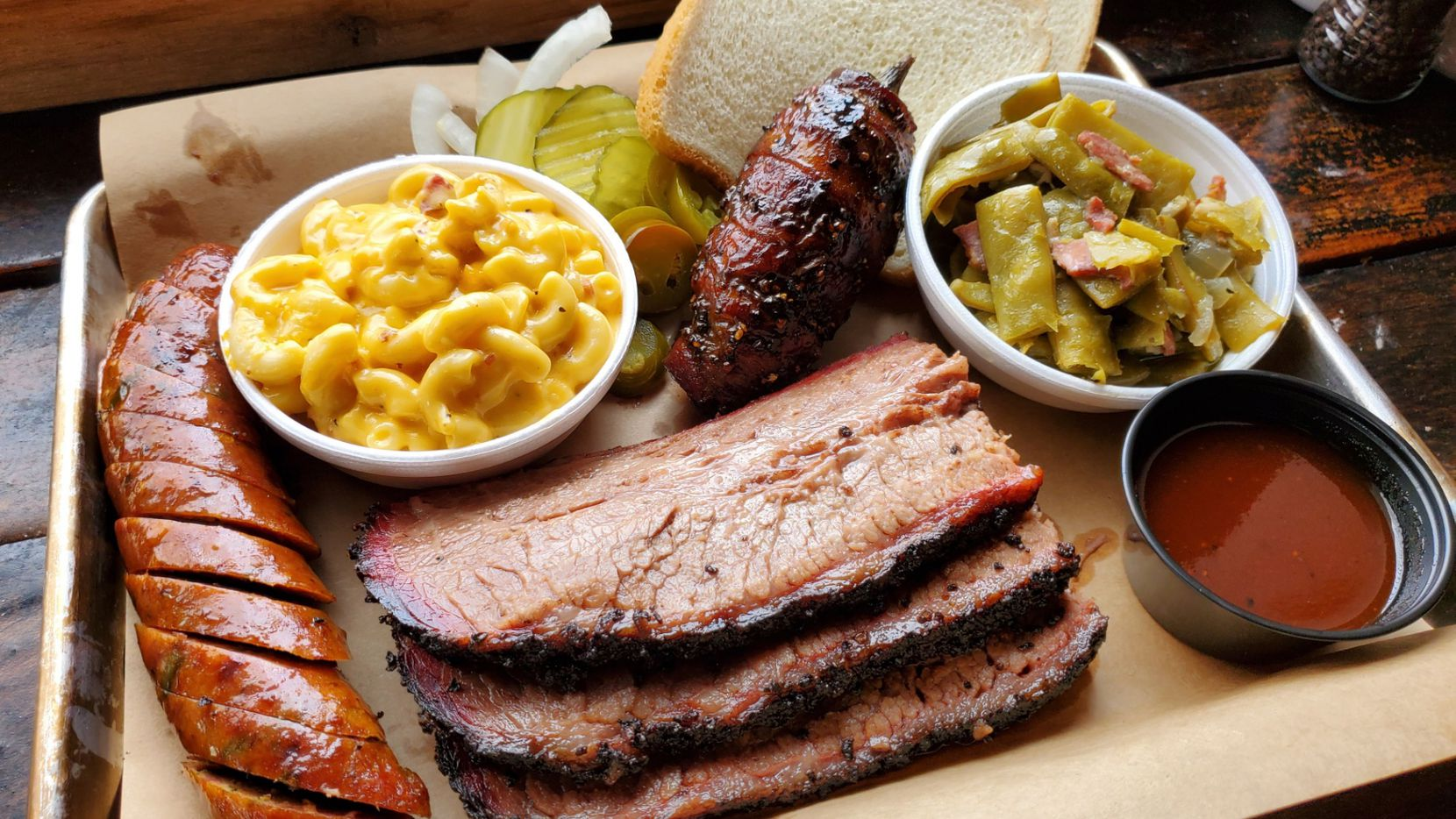 Hutchins BBQ in McKinney is officially back in business on Tuesday, after a fire on New Year's Eve closed the restaurant for exactly eight months.