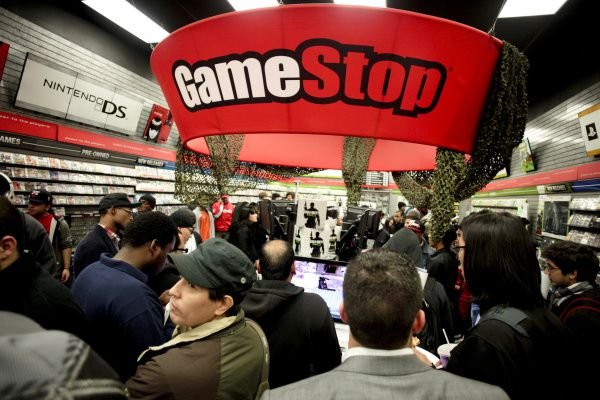 GameStop posted a big decline in sales during the holiday season.