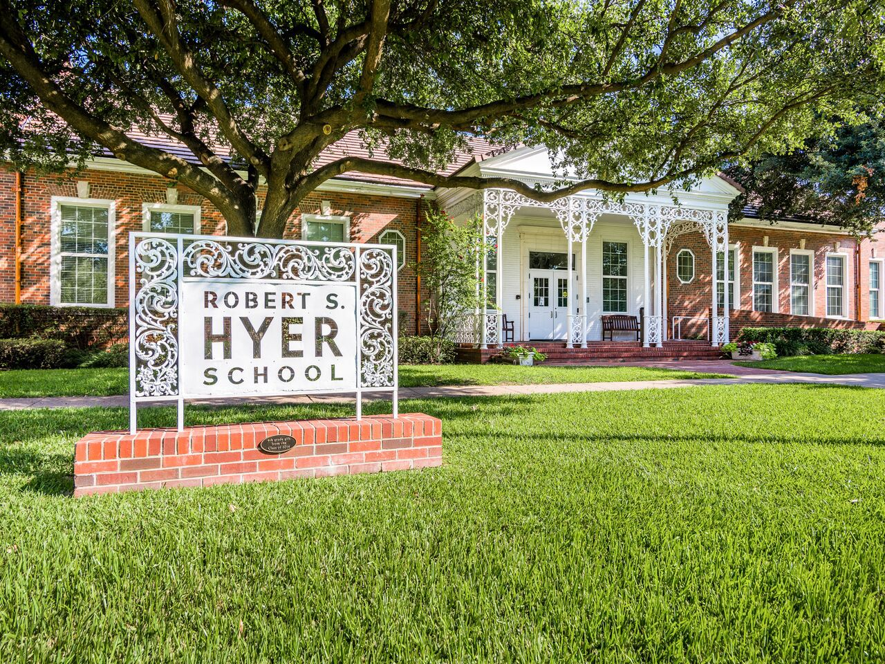 Hyer Elementary (Photo by  Michael Cagle)