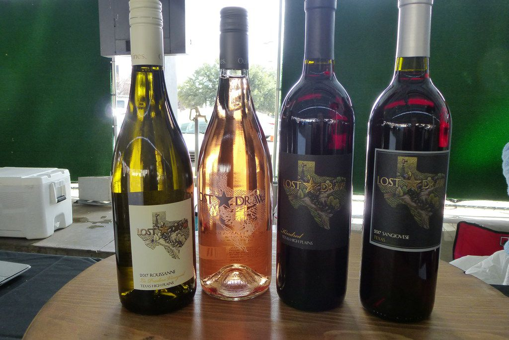 Lost Draw Cellars, owned by premier Texas grape-grower Andy Timmons, included its cinsault-based rose  among the wines at the Dallas Farmers Market Texas Wine and Cheese Tasting.