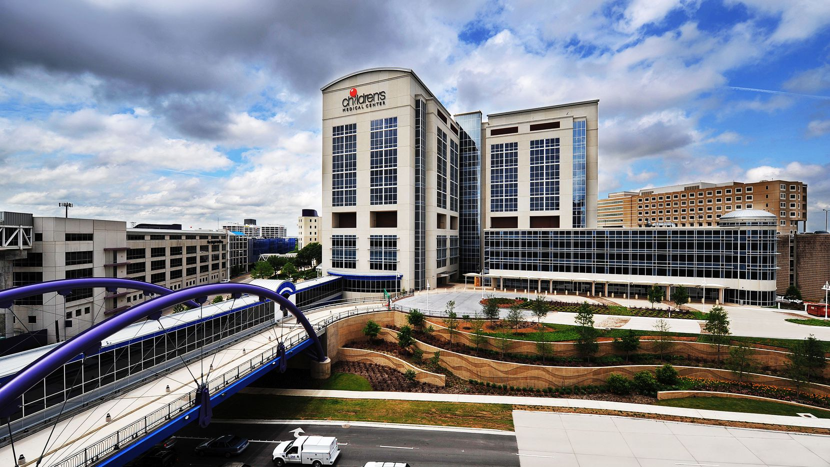 Children's Medical Center in Dallas is the flagship of the pediatric care health system.