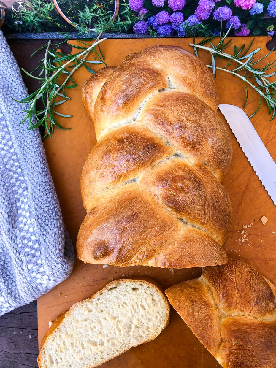 Home cook Katie-Rose Watson, who lives in Rockwall, tries to make daunting cooking tasks seem more simple. Her braided loaf takes just 10 minutes of hands-on time.