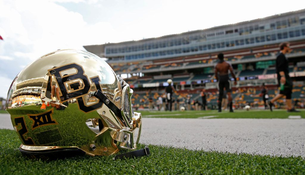 Baylor players warm up prior to the Oklahoma State game at McLane Stadium in Waco, Texas, Saturday, Sept. 24, 2016. (Jae S. Lee/The Dallas Morning News)