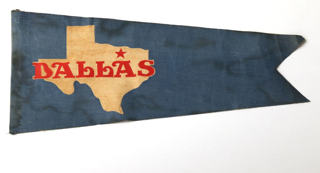 Dallas' long-lost official flag, designed in 1916 by Jane Malone and forgotten about for a century.