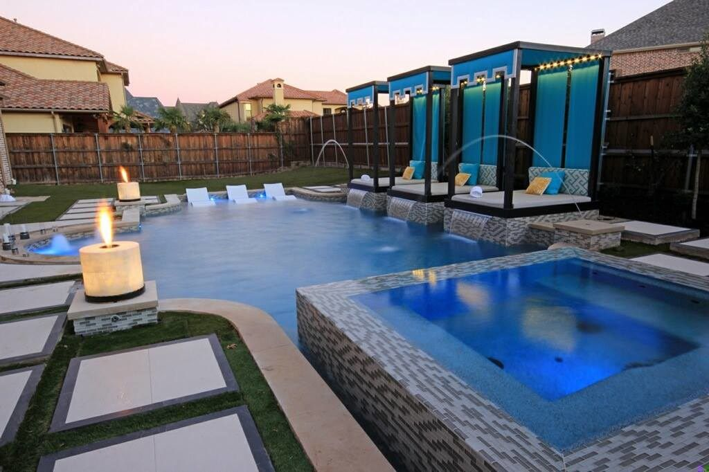 When considering seating, don't rule out cabana-style options for poolside spaces, Elaine Romero says.