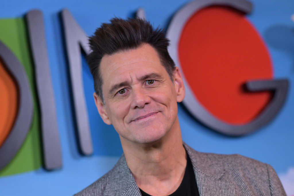 Actor Jim Carrey arrives for the FYC red carpet event for Showtime's comedy Kidding at the Linwood Dunn Theatre in Los Angeles on May 1, 2019.