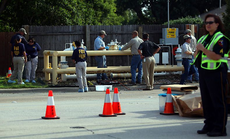 A federal judge on Monday ruled that Anson Chi committed an act of terrorism in 2012 when he tried to bomb an above-ground section of natual gas pipeline on Parker Road in Plano.