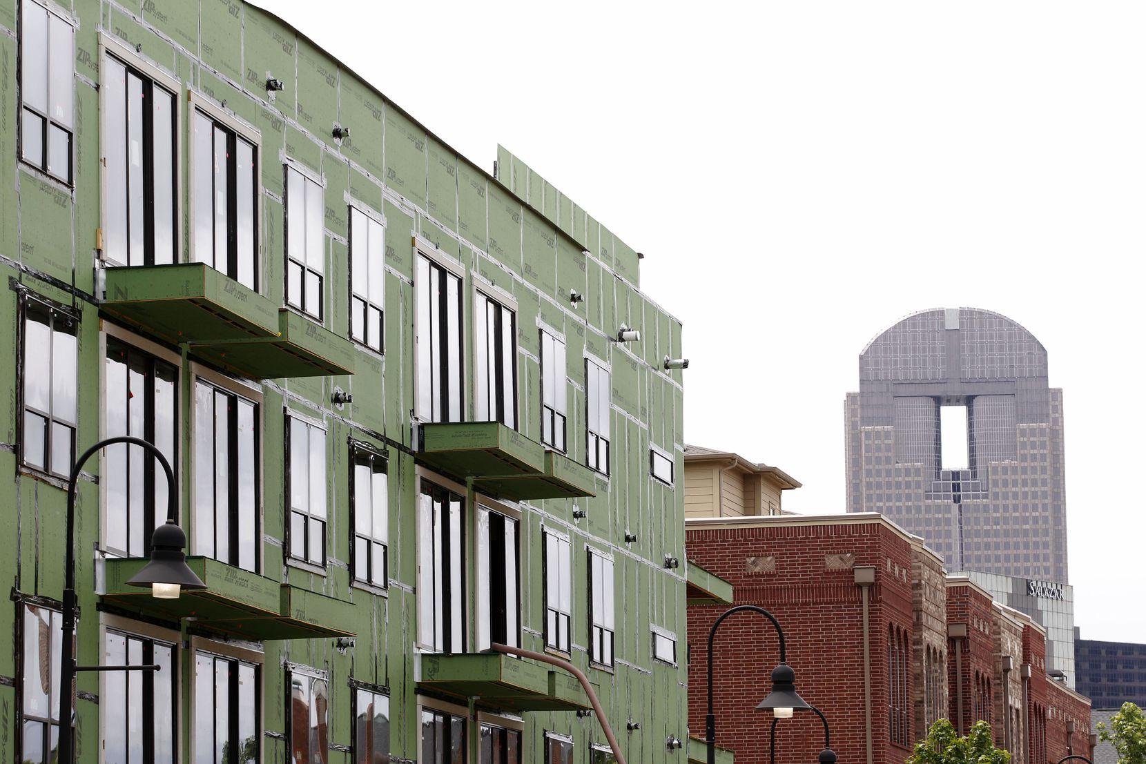 Dallas apartment construction is near a record high.