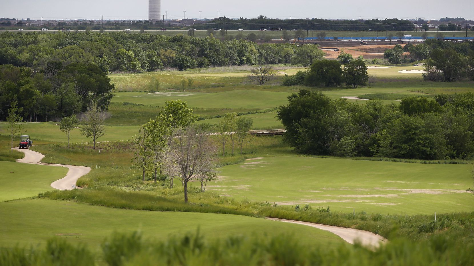 A view of the west course at the Omni PGA Frisco Resort on PGA Parkway in Frisco on Tuesday, May 4, 2021