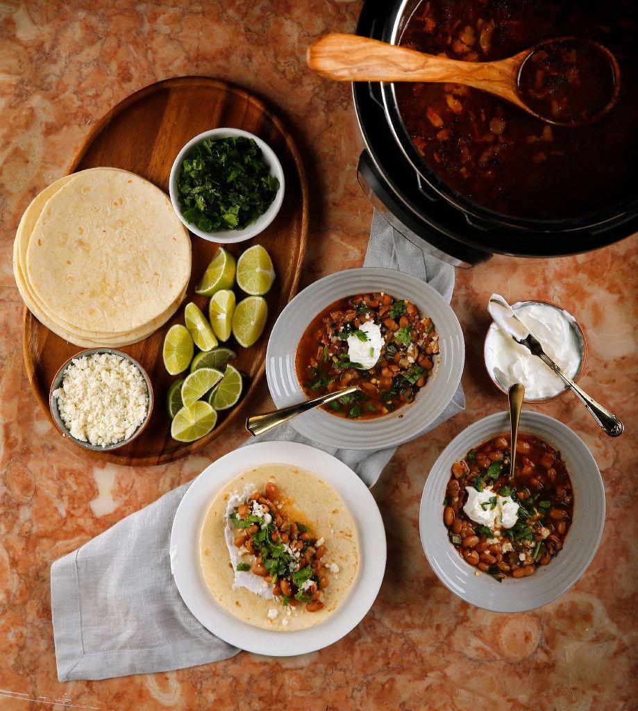Instant Pot Cowboy Bean Soup (Tom Fox/Staff Photographer)